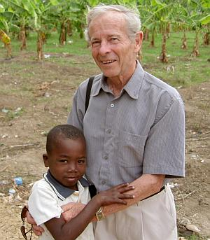 Garth Wright in Haiti