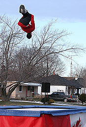trampoline jumper
